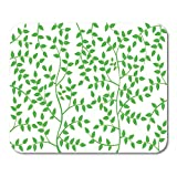 Mouse Pads Abstract Branches and Leaves Green Color Leaf No People Plant Tree Summer Concepts Topics Environment Mouse Pad