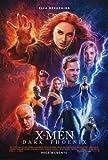 Xmen - Poster da Parete Dark Phoenix - Argentinian Movie, 30 x 43 cm