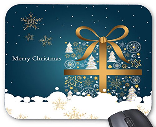Beautiful Christmas Jingle Bells Ring Design Mouse pad 7x8.66 inch (Ring Jingle)