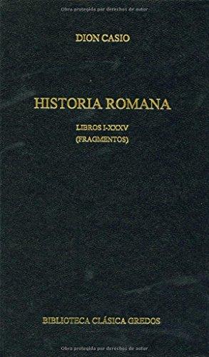 Historia romana libros i-xxxv (fragmento (B. BÁSICA GREDOS)