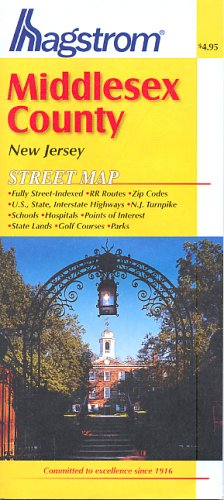 Middlesex County, Nj Map