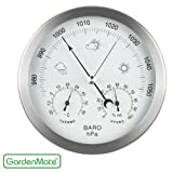 GardenMate® Weather Station 3in1 Stainless...