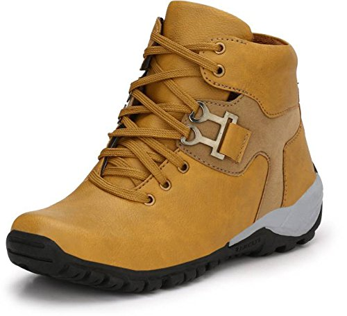 T-Rock Men's Synthetic Leather Stylish shoes