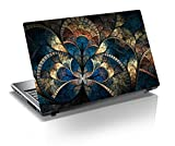"""Monika Creations Abstract Art 15.6 inch Laptop Skin, 3M Vinyl Fits for 13.3"""", 14"""", 15"""", 15.6"""", 16"""" Screen"""