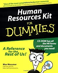 Human Resources Kit for Dummies by Max Messmer (1999-03-30)