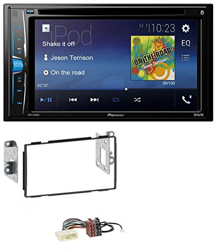 Pioneer AVH-A200BT USB DVD 2DIN Bluetooth CD MP3 Autoradio für Nissan Qashqai (2007-2013) Pioneer-cd-dvd Auto-player