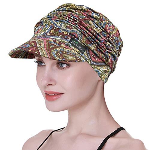 FocusCare Baseball Caps für Chemo Frauen Newsboy Hüte für Chemotherapie