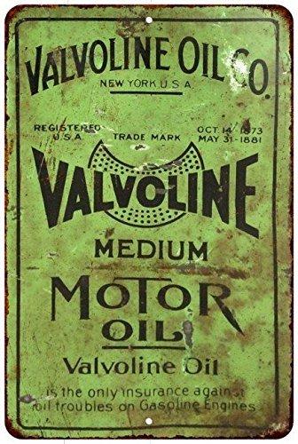 valvoline-medium-motor-oil-vintage-look-reproduction-8x12-metal-sign-8120835-by-great-american-memor