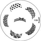 Konad Stamping Schablone M56