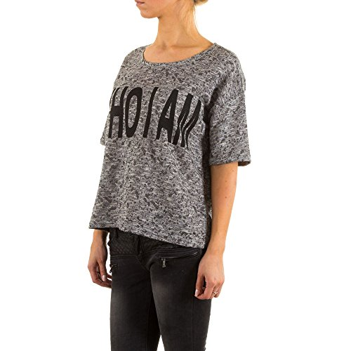 Damen Shirt, JCL SWEAT T-SHIRT SHIRT, KL-83575 Grau