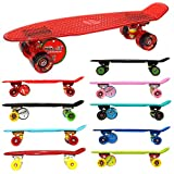 MAXOfit® Mini Cruiser Retro Skateboard American