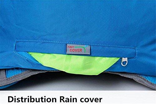 Wasserdichte 40L Nylon Fahrrad Rucksäcke Ultrasporttasche für das Reiten Fahrradrucksack Rennrad Tasche Red