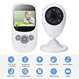 TKSTAR Baby Monitor Babyphone Video mit kamera,Wireless 2,4 GHz Audio Baby Monitor Babyphone mit Nachtsicht 2-Wege-Talk