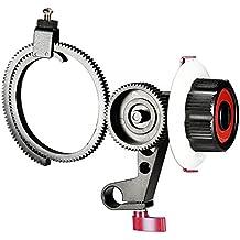 Neewer Follow Focus avec 15mm Shank Clamp Simple, Ceinture Anneau de vitesse réglable pour DSLR Camera / DV / caméscope / Film / Vidéo, convient Supports épaule, Stabilizers, Plates-formes Film