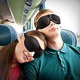 FYLINA 3D Schlafmaske Herren Damen, patentiertes Design 100% Blackout Augenmaske