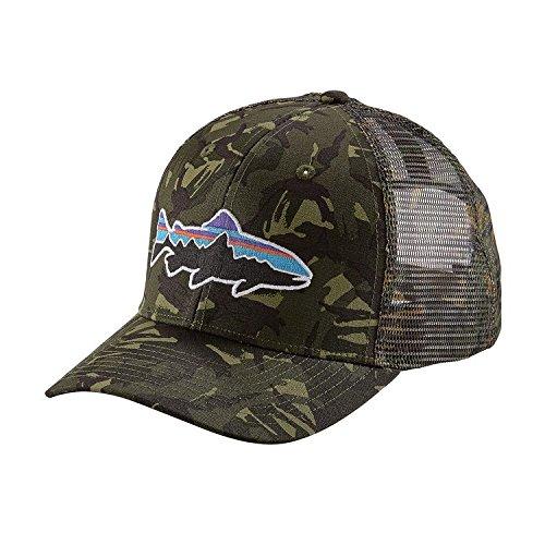 Für Männer Patagonia-trucker-hüte (Fitz Roy Trout Trucker Hat)