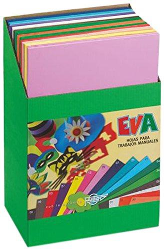 Faibo 655EXP - Expositor 120 láminas de goma Eva
