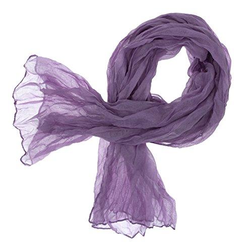 DOLCE ABBRACCIO CRAZY MAMA Damen Schal Halstuch Tuch Damenschal aus Baumwolle MASH Schals Ganzjährig Frühling Sommer (Zyklame)
