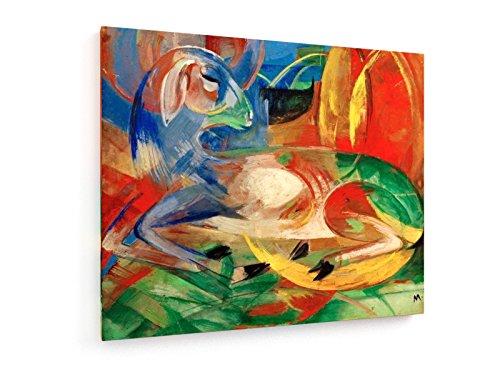 franz-marc-cordero-azul-1913-60x50-cm-weewado-impresiones-sobre-lienzo-muro-de-arte-antiguos-maestro