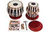 Maharaja Black Painted Tabla Drum Set