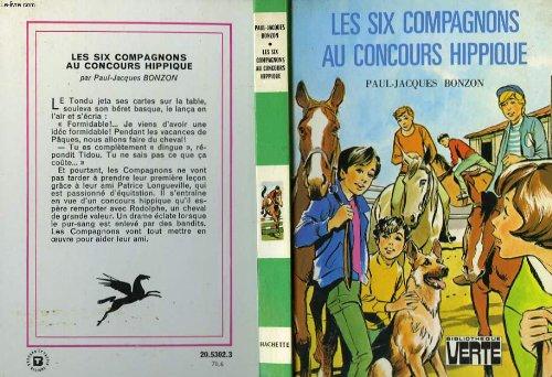 Les Six compagnons au concours hippique (Bibliothèque verte) par  Paul-Jacques Bonzon