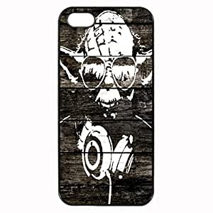 Yoda wood graffiti Image Protective Iphone ipod touch4 / Iphone 5 Case Cover Hard Plastic Case for Iphone ipod touch4