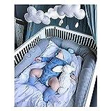Culla Paraurti Cuscino di Coccodrillo - Protezione/Paracolpi per Lettino Grandi Abbracci Arredamento della Biancheria da Letto Regalo per Bambini Appena Nati Giocattoli di Dormire