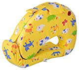 #5: BABY BUCKET MOTHER PILLOW FEEDING AND NURSING (Yellow Animal)