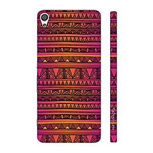 Enthopia Designer Hardshell Case Aztec 21 Back Cover for Sony Xperia XA Ultra