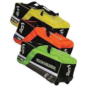 Kookaburra Pro 300 Cricket Bag - Blackyellowsilver