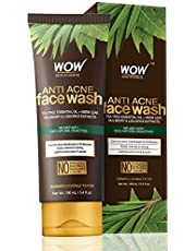 WOW Anti Acne Face Wash OIL Free No Parabens Sulphate Sil
