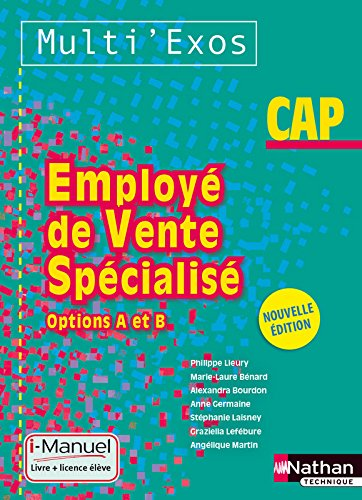 Employ de vente spcialis - Options A et B