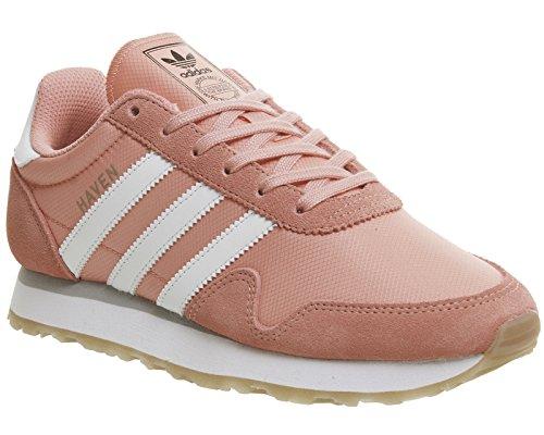 adidas Damen Haven W Laufschuhe, Rosa Mehrfarbig (Tactile Rose F17/ftwr White/gum 3)