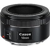 Canon Lens Ef50Mm F1.8 Stm Fotoğraf Makinesi, Full HD (1080p), Siyah, 2 Yıl Canon Eurasia Garantili