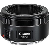 Canon Lens Ef50Mm F1.8 Stm Fotoğraf Makinesi, Full HD (1080p), Siyah