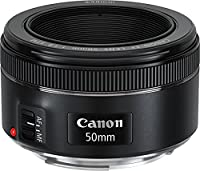 Canon Teleobiettivo, EF 50 mm f/1.8 STM SLR, Nero [Versione Canon Pass Italia]
