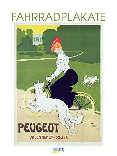 Fahrradplakate 2019: Großer Kunstkalender. Wandkalender mit vintage Plakaten im Kunst Gallery Format: 48 x 64 cm +Foliendeckblatt
