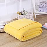 Flannel Throw Blankets ,Micro Plush Soft Flannel Fleece Throw King Size Blanket Sheet for Bed Sofa 180* 200 cm