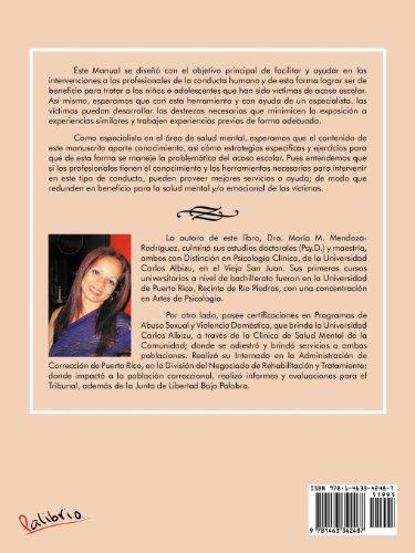 Manual Para Capacitar Profesionales En La Intervencion y El Manejo de Victimas de Acoso Escolar O