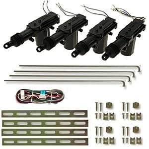 100zv1 servo moteur kit pour 4 portes - Moteur de verrouillage de porte de voiture ...