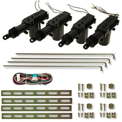 100ZV1 - Auto Set Motore regolazione chiusura centralizzata per 4 porte Telecomando centrale dell'automobile serratura Keyless Entry System