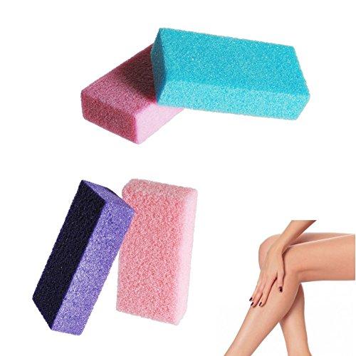 Bimsstein - Schwamm für Peeling und Kampf gegen tote Haut, Haare und trockene Haut