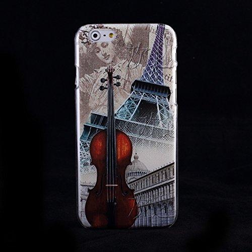 Bunte Nationale Berühmte Gebäude Big Ben Schiefen Turm von Pisa Freiheitsstatue Design Kunststoff Hard Case für IPhone 6S 6 ( Color : 3 , Size : IPhone 6S 6 ) 3