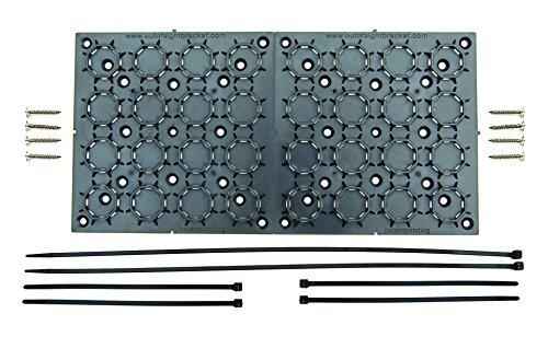 Rv Tv-halterungen Für (aus den Augen Klammern Universal, verstellbare Halterung Kit Mit Kabel Organizer für Flat Panel TV, unter Schreibtisch Draht, Management, Verstecken Bindekordeln & More 2er Pack (2))
