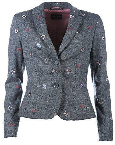 White Label Damen Blazer Größe 38 Grau (grau)