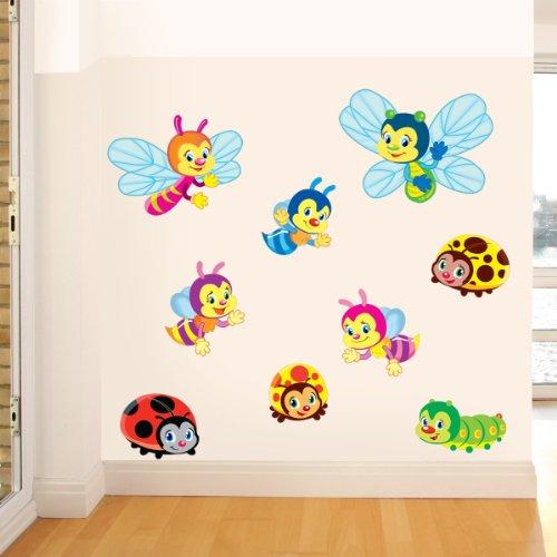 STICASA STIKID Bugs–Wand Dekor mit, DASS italienischem Spezial Touch