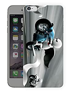 """Humor Gang Cutest Cartoon Crazy Love Printed Designer Mobile Back Cover For """"Apple Iphone 6 - 6S"""" By Humor Gang (3D, Matte Finish, Premium Quality, Protective Snap On Slim Hard Phone Case, Multi Color)"""