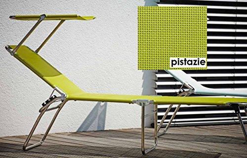 3 Pieds en aLUMINIUM - 5,8 kg-hauteur 42 cm-plage piscine sauna terrasse bain de soleil jANKURTZ-rutenhalter trépied pour chaise longue 190 x 58 cm-hauteur : 42 cm-couleur : gris-pistache sTABIELO charge maximale : 120 kg-dISTRIBUTION-holly ® produits sTABIELO contre supplément avec holly fÄCHERSCHIRMEN sur demande-holly-sunshade ®-innovation fabriqué en allemagne