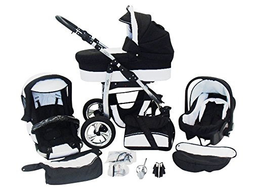 Chilly Kids Dino 3 in 1 Kinderwagen Set
