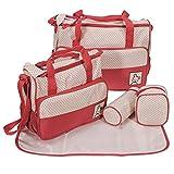 Baybee Kwicky Premium Quality Baby Diaper Bag / Mother Bag / Maternity Hand Bag Bag 5 PC Set